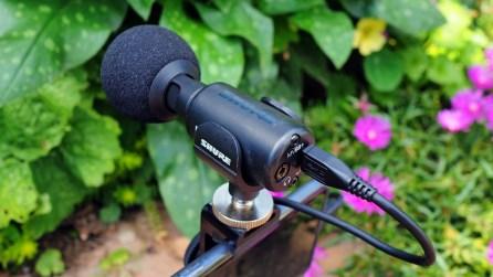 Mikrofon Detailsansicht