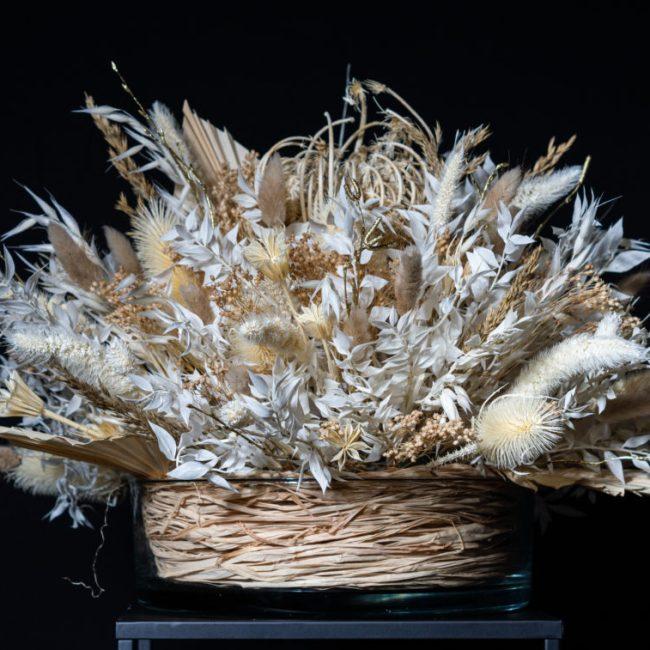 lej hvid dekoration til bryllup