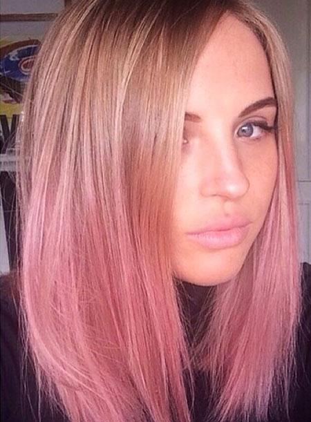 Pink Blonde Hair Color  Blonde Hairstyles 2017