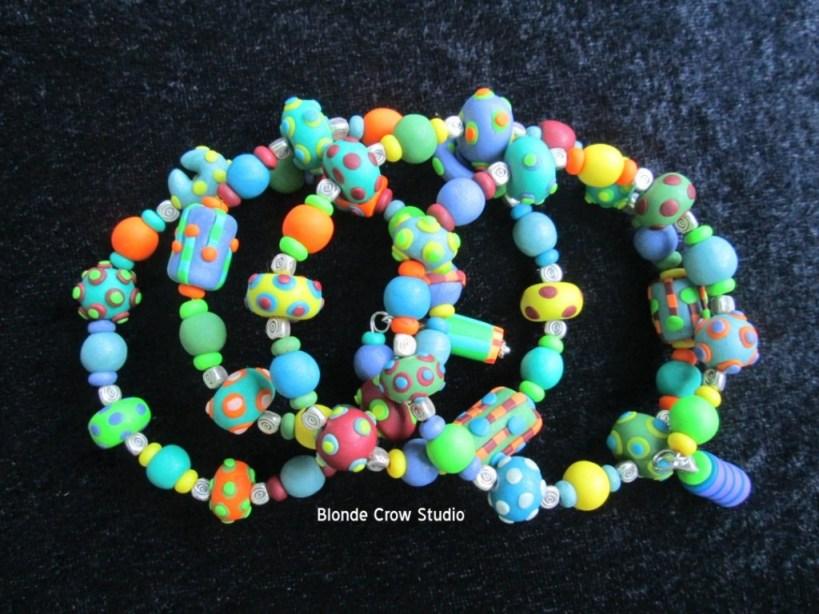 BCS Whimsy-beads bracelet