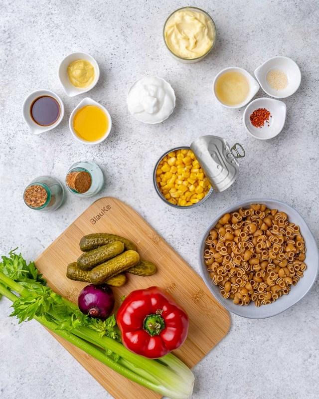 Easy Macaroni Salad Recipe – How To Make Vegan Macaroni Salad - 27