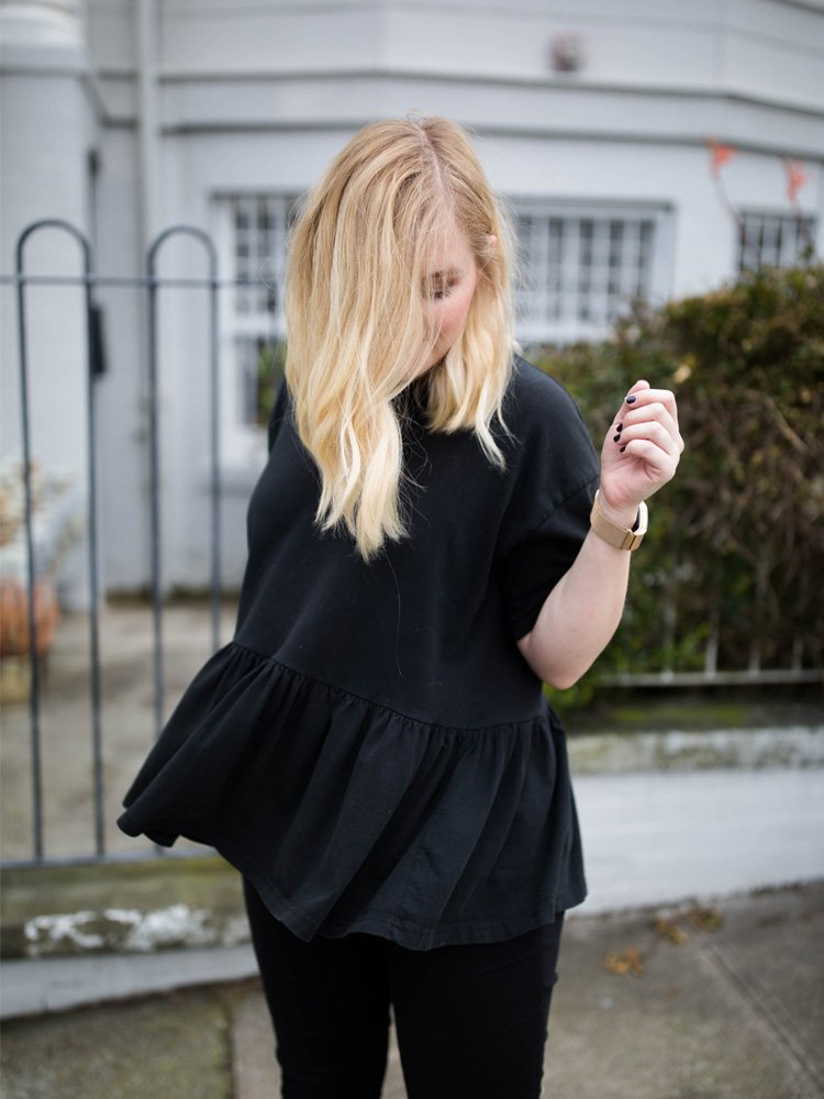 How to Style an All Black Outfit + Link Up!