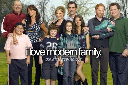 i love modern family