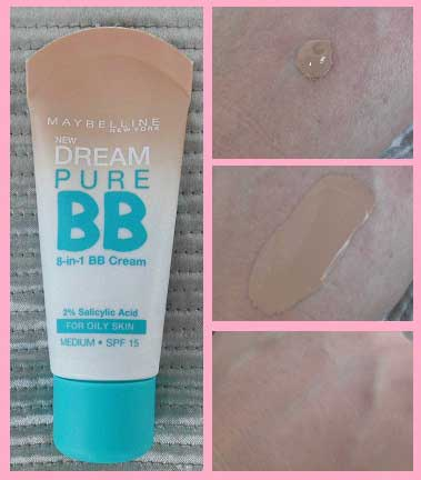 Mega-budget-BB-Cream-creme-review-Maybelline-Pure-swatches