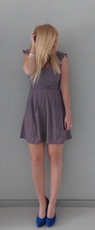 OOTD-outfit-floral-bloemen-dress-jurk-cobalt-blauwe-pumps-summer-5