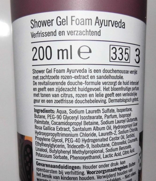 review-AH-albert-heijn-zacht-ayurveda-foam-shower-gel-budget-tip-5