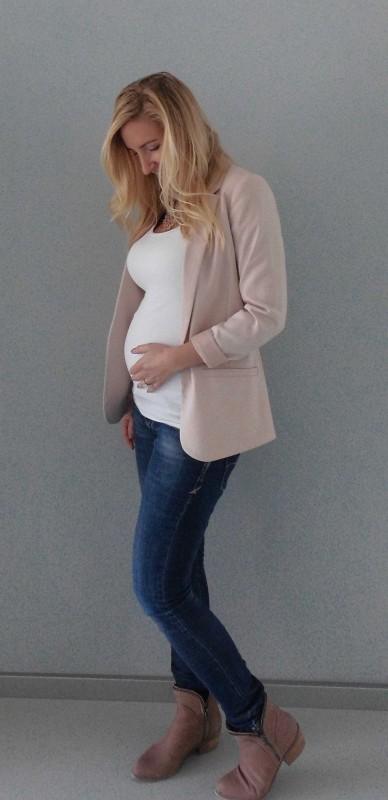 OOTD-outfit-of-the-day-zwanger-zwangerschap-pregnant-werk-netjes-colbert-forever-21-jeans-boots-2