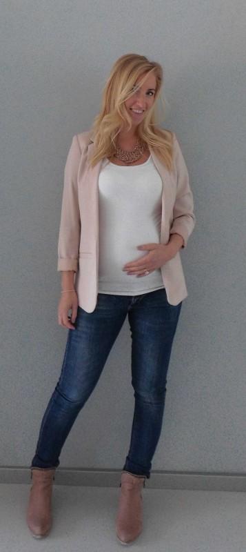 OOTD-outfit-of-the-day-zwanger-zwangerschap-pregnant-werk-netjes-colbert-forever-21-jeans-boots-3