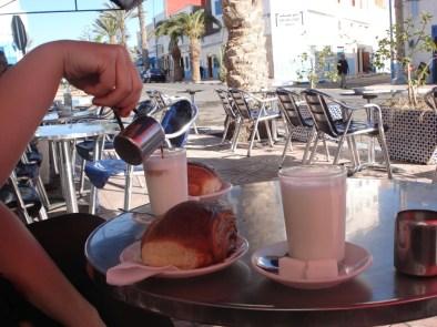 morocco breakfast coffee tea milk