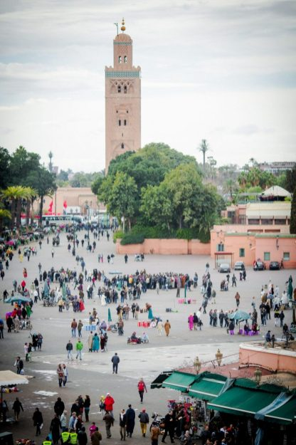 marrakech morocco medina koutubia