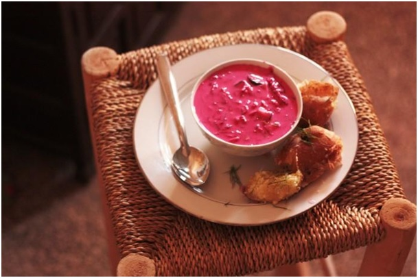 Šaltibarčiai, soup, cold soup, morocco