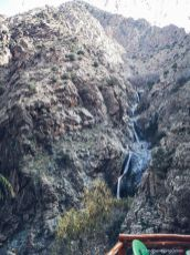 waterfalls, mountain, morocco