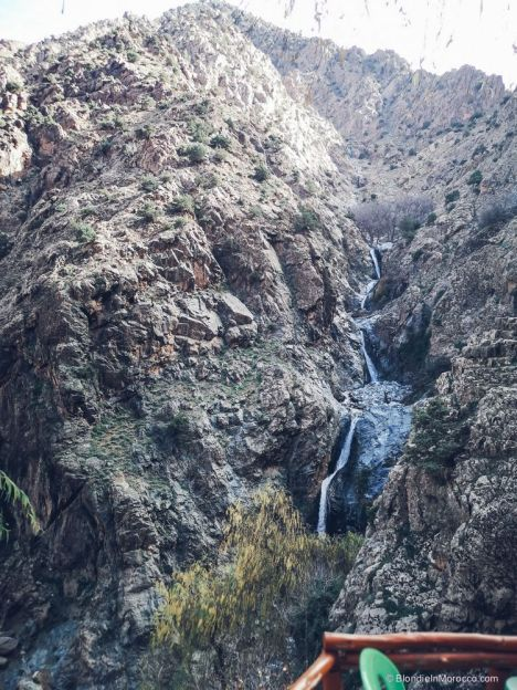 waterfalls, mountain, morocco