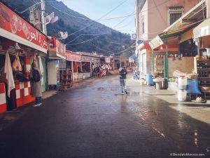 village, morocco, street, Setti Fatma, people