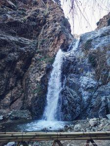 waterfalls, ourika valley, mountains, morocco