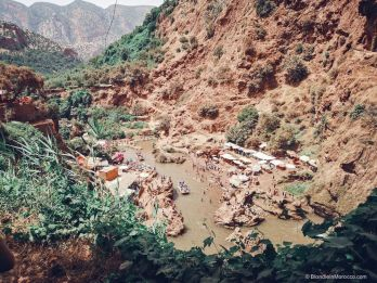 ouzoud waterfall morocco river