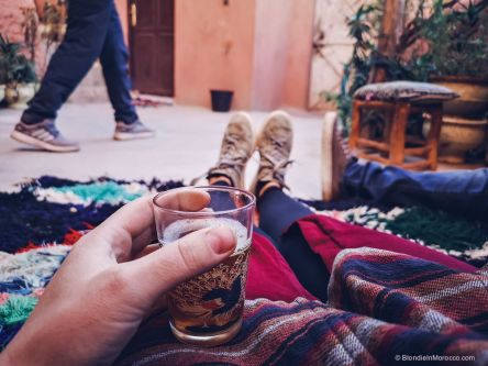 tea, moroccan tea, house