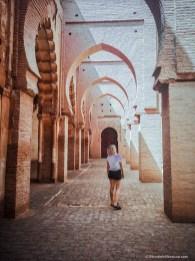 tinmel, mosque, morocco, girl