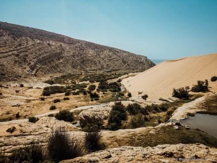 Sidi M'Barek waterfalls morocco nature mountains dunes