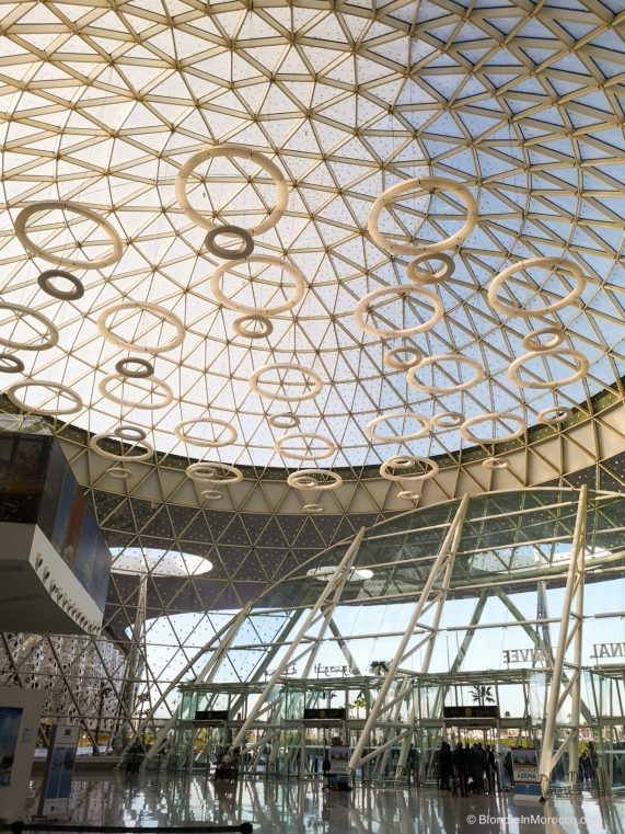 marrakech airport morocco architecture