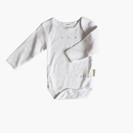 BODY BORDADO UNISEX  – CHOCOLAT BABY