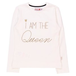 CAMISETA DE NIÑA I AM THE QUEEN – BOBOLI