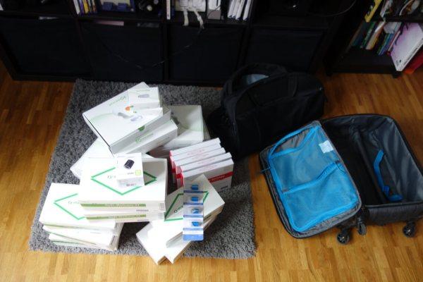 Diabetesequipment für 6 Monate