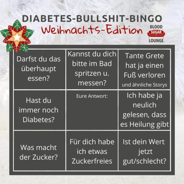 Das Bullshit Bingo zu Weihnachten