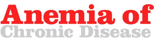 anemia of illness