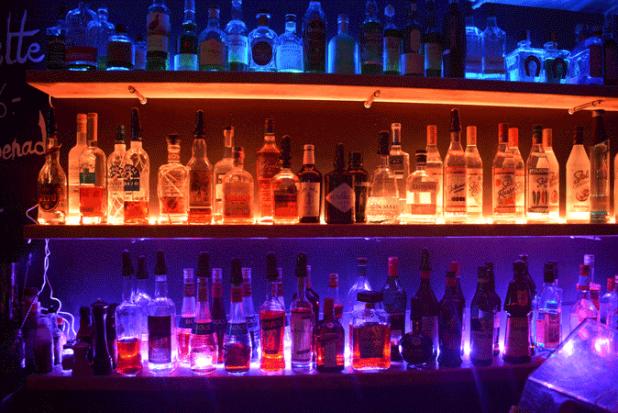 Fond du bar