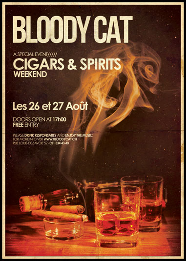 Flyer Weekend Cigars & Spirits