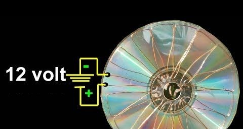 12 Volt Energy - CD Can Be Your Solar Cell