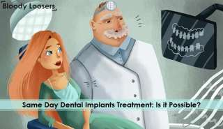 Same Day Dental Implants Treatment - Is it Possible