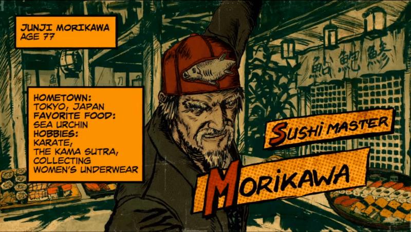 Morikawa Sensei