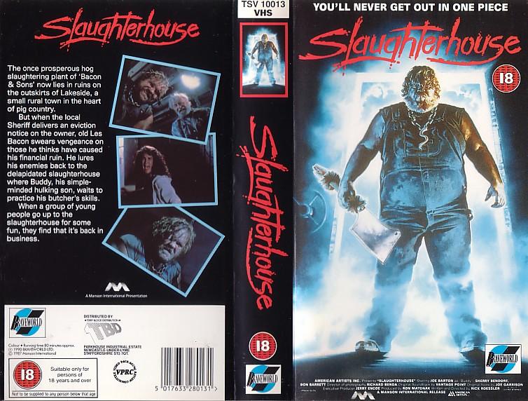 slaughterhousevhs
