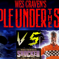 "Wes Craven announces ""People Under The Stairs Vs Shocker."" Entire world astonished."