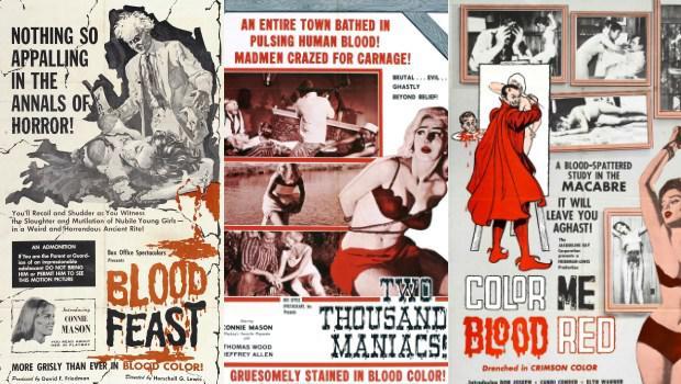 Herschell Gordon Lewis' Blood Trilogy Movie Posters