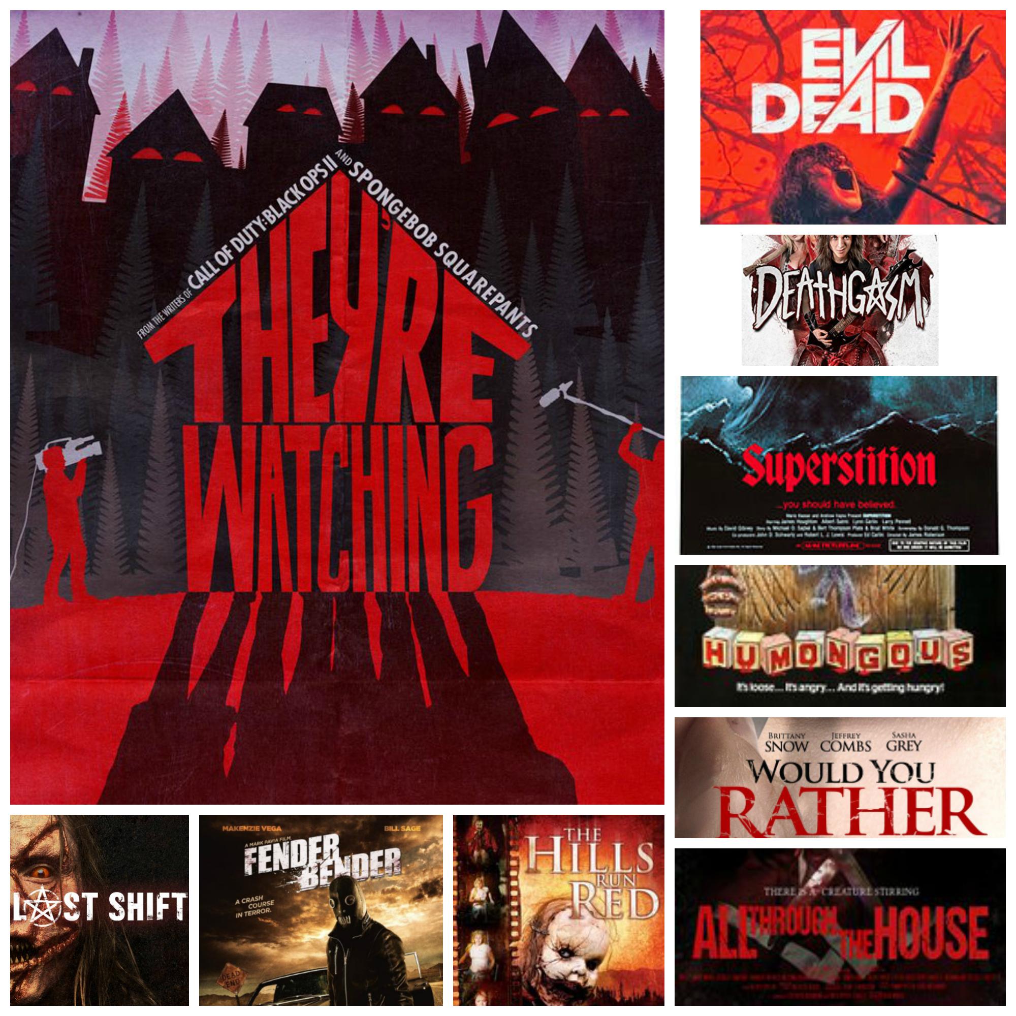 Top 10 Horror Flicks For Halloween! - Bloody Whisper