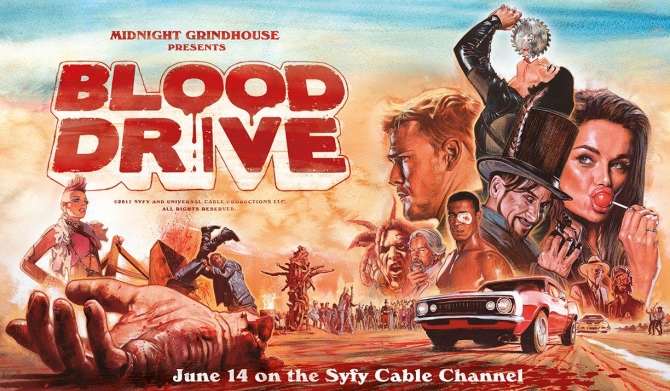 Blood Drive Episode One: The F*ckin' Cop