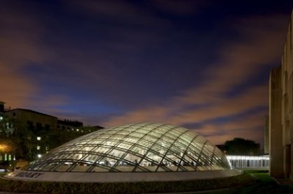 Mansueto-library-glass-dome-sunset