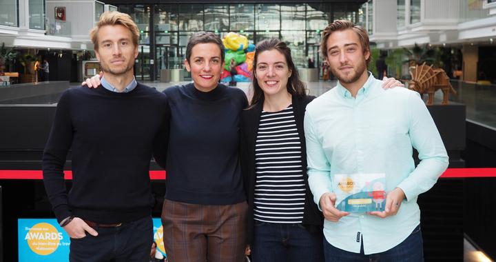 Awards du bien-être au travail 2019 : Twelve Consulting (LE GAGANT) avec le Challenge Pomme d'Happy qui a pour objectif de fédérer des équipes nomades et créer de la cohésion entre eux au quotidien.