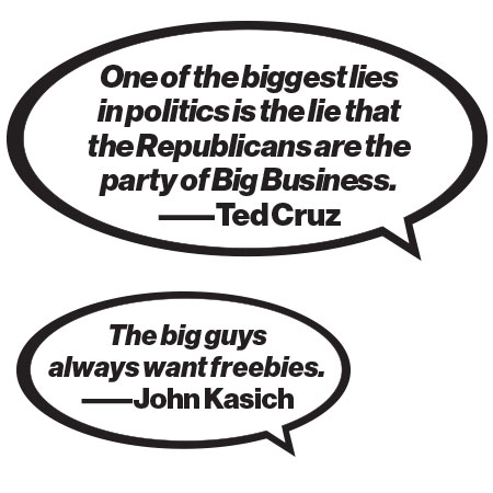 Why Big Business Is Brushing Off Campaign Trail Rage