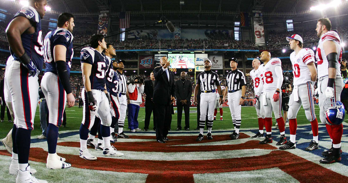 Image result for super bowl coin toss