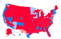 History And Polling Point Sweeping Democratic House