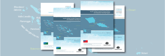 Pacific climate change brochures