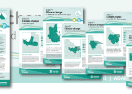 Climate change in Queensland brochures