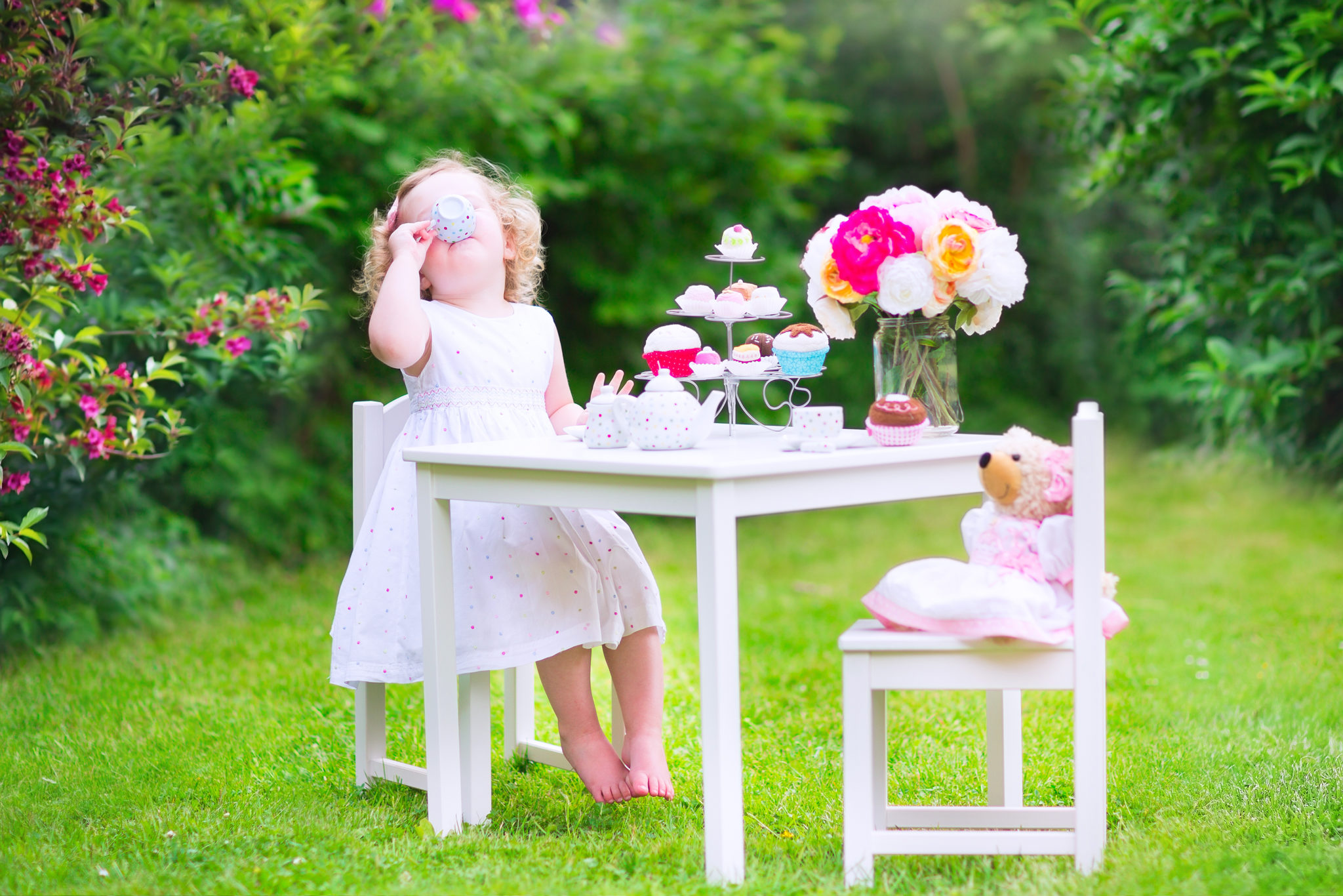 Best Tea Time Toys Tables  Books  Bloomers and Bows
