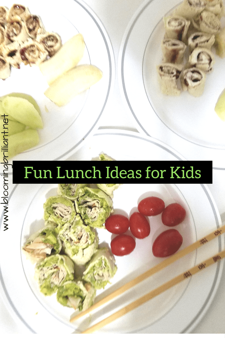 Looking for Fun Lunch Ideas for Kids? Check out these 3 simple, delicious and fun recipes that are sure to delight your kids.