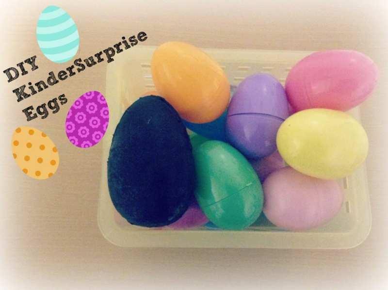 DIY KinderSurprise Eggs