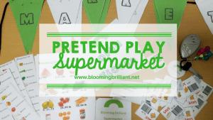 Pretend Play – Supermarket